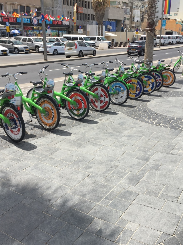 Rental Bicycles in Tel Aviv. Brownell 2019