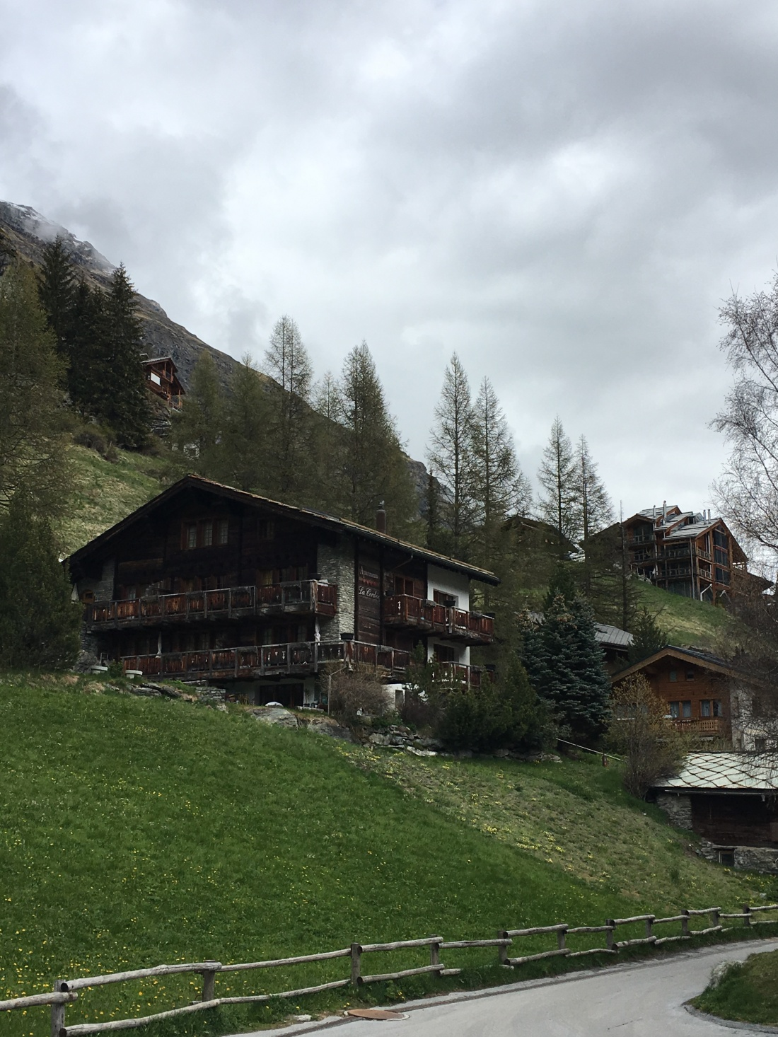 The surroundings of Zermatt, Switzerland. Brownell, May, 2019