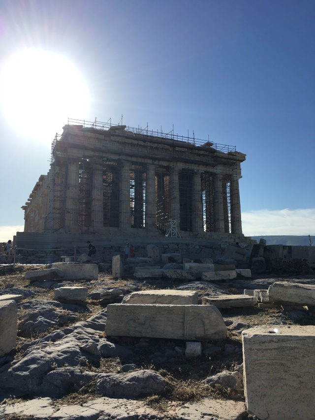 The Parthenon. Brownell, May 2019.