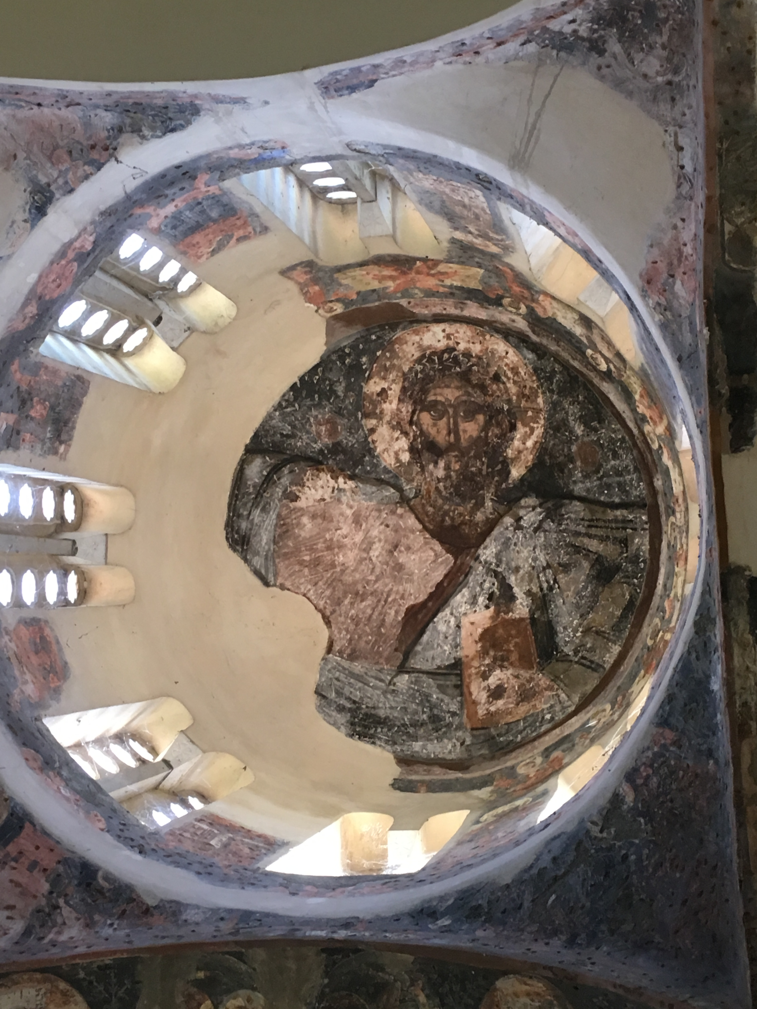 Dome of the Church of the Holy Apostle, Athens Agora. Brownell, May 2019.