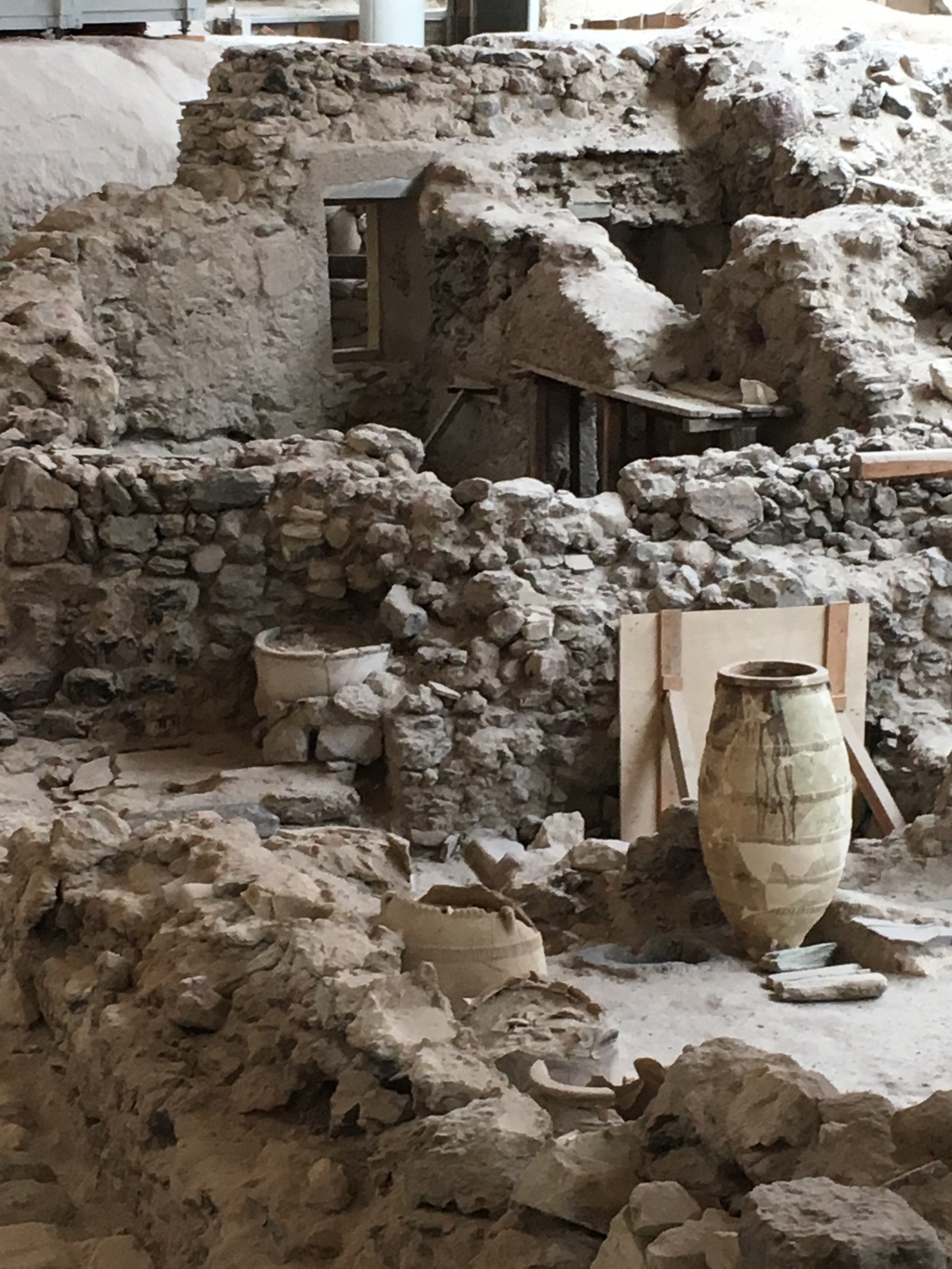 Ruins of Akrotiri. Brownell. 2019