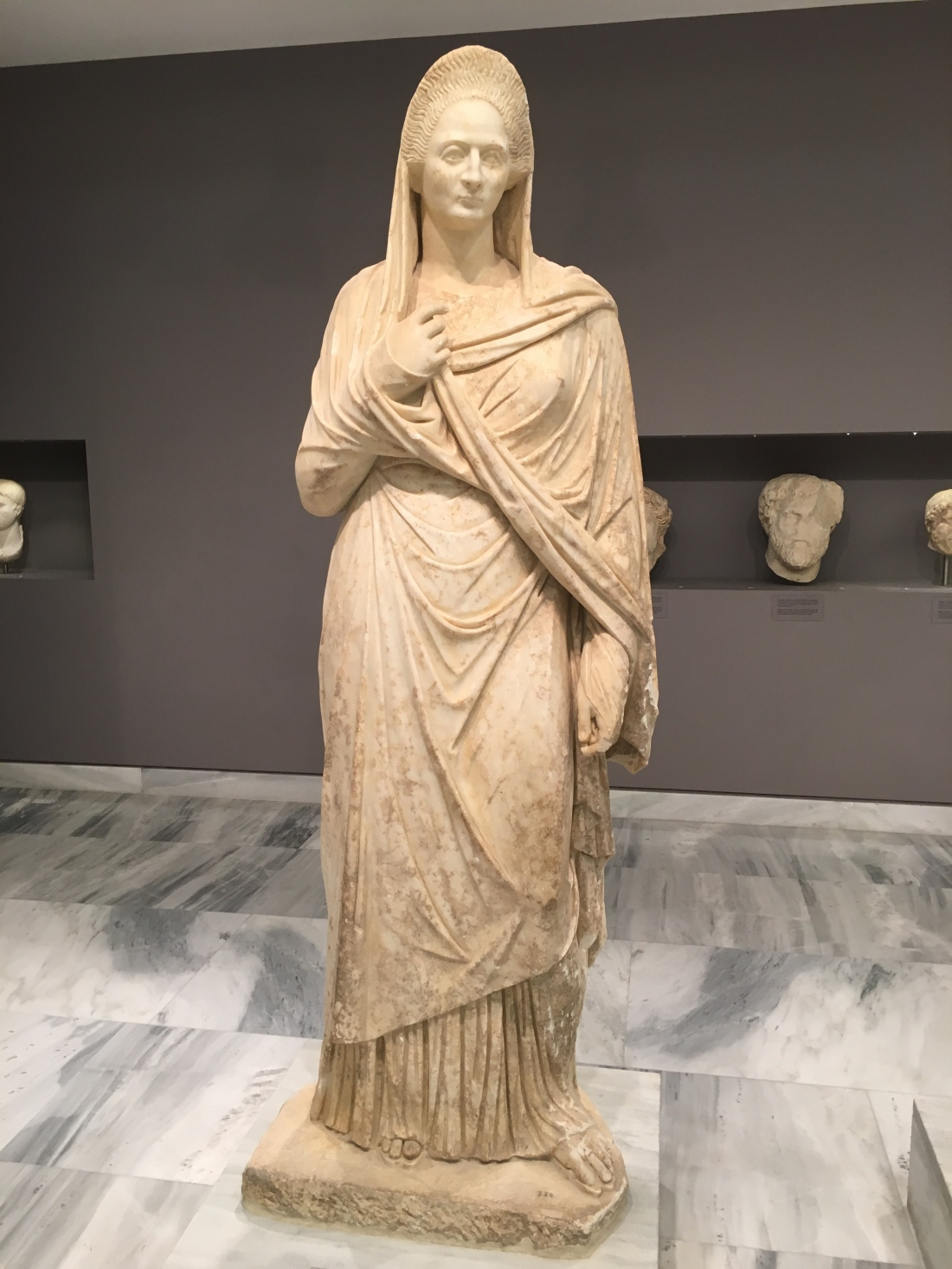 Archeological Museum, Crete. Brownell. 2019