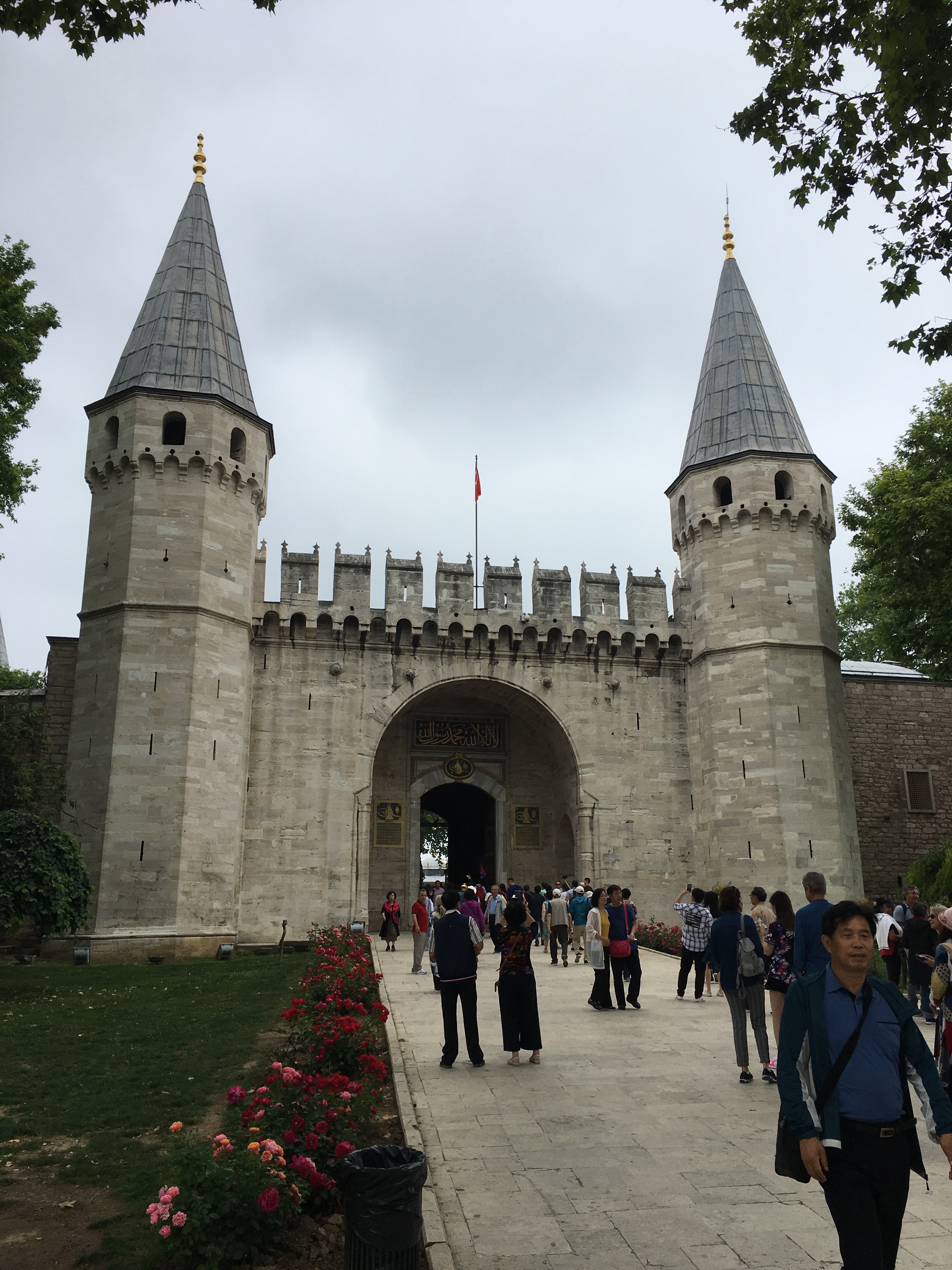 Topkapi Palace, Istanbul. Brownell. 2019