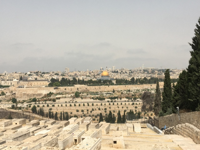Mount of Olives. Jerusalem. 2019