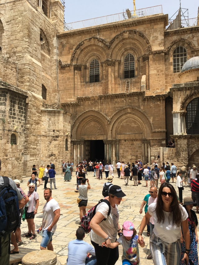 Church of the Holy Sepulchre, Jerusalem. 2019