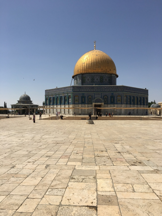 The Dome of the Rock, Jerusalem. 2019