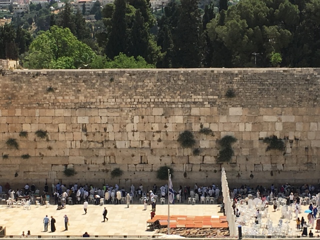 The Western Wall, Jerusalem. 2019