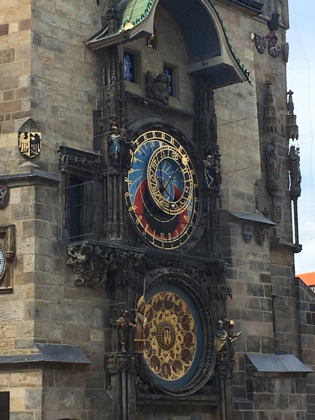 The Astronomical Clock, Prague. Brownell. 2019