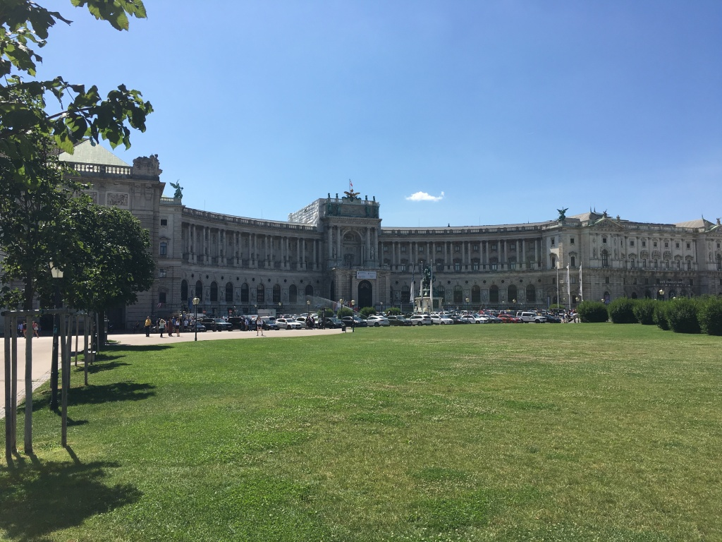 The Hapsburg Palace, Vienna, Austria. 2019. Brownell