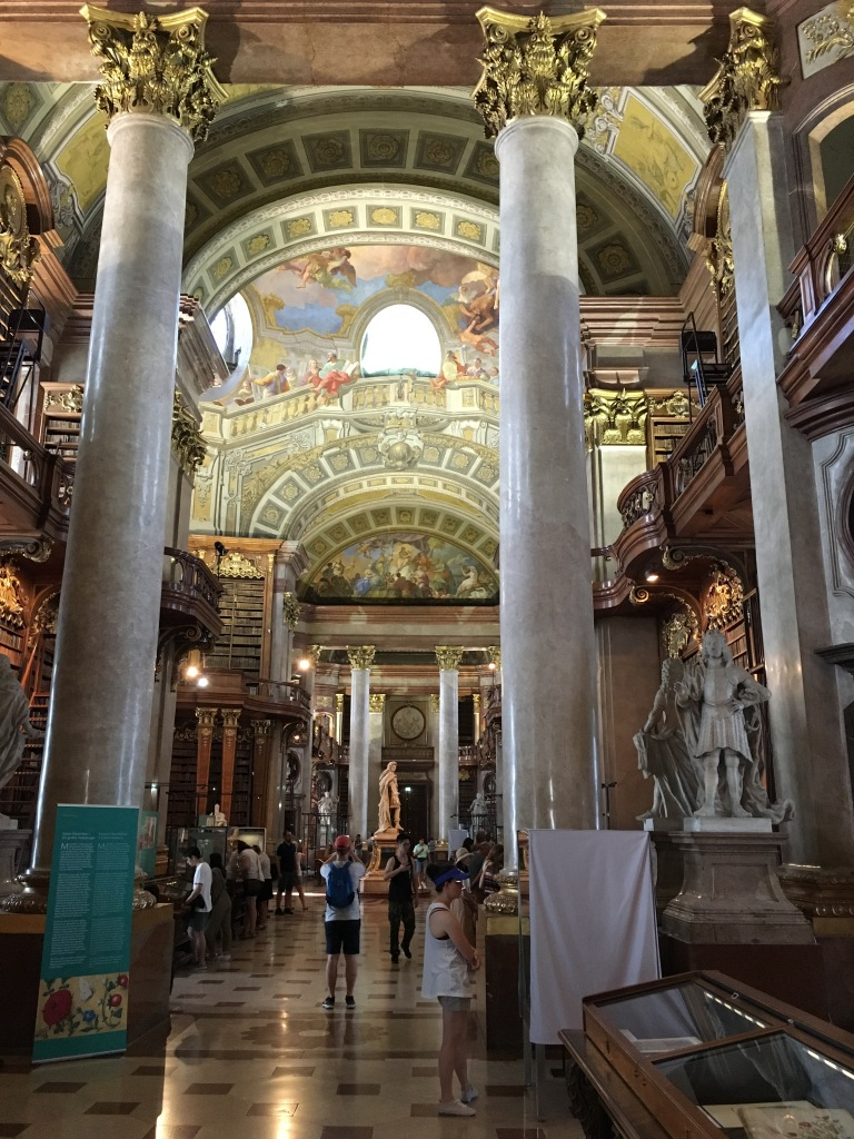 Austrian National Library, Vienna, Austria. 2019. Brownell