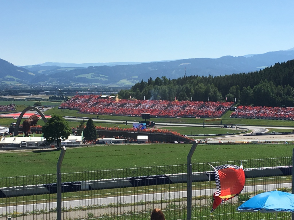 The Red Bull Ring, Spielberg, Austria. 2019. Brownell